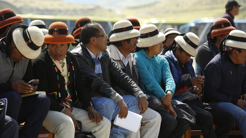 Las Bambas: comuneros de Challhuahuacho anuncian que continuarán paro tras diálogo frustrado