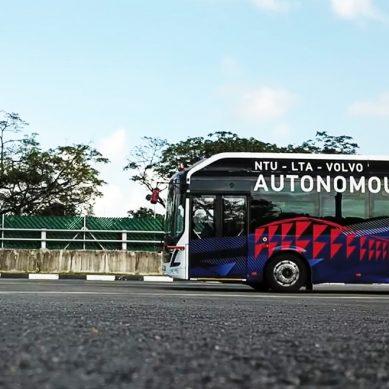 Autónomo y eléctrico, el autobús del mañana es un presente en Singapur