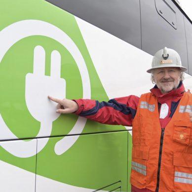 Gigante Codelco usará tres buses eléctricos para movilizar personal en mina El Teniente