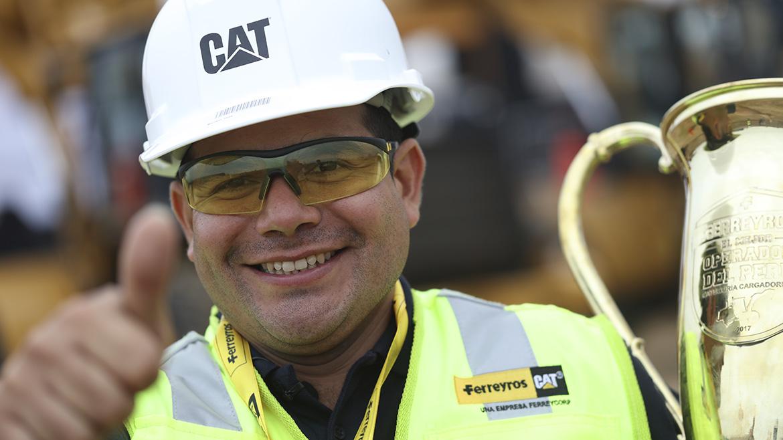 Operadores de maquinaria podrán representar al Perú en torneo mundial de Caterpillar