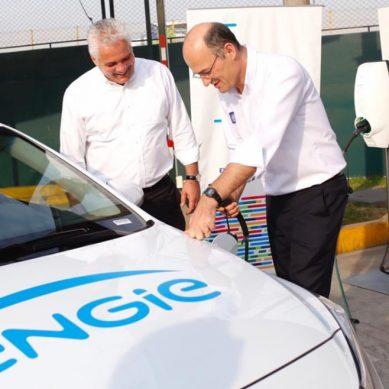 """Engie Perú y VINCI inician la """"transición verde"""" con un auto eléctrico en Evitamiento"""