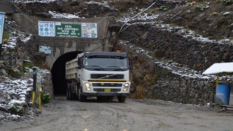 Producción de plata en mina Caylloma aumentó levemente en 1% durante el primer trimestre
