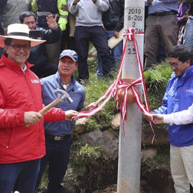 MEM dota de energía eléctrica a 5,000 pobladores de la comunidad campesina de Michiquillay