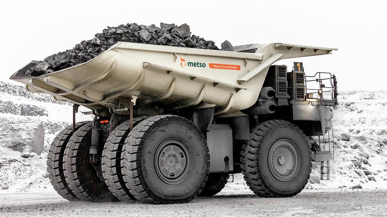 Metso Truck Body, la carrocería para camiones mineros que comienza a fabricar la finlandesa