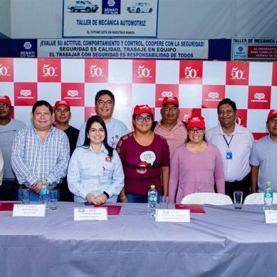 Petroperú capacita a 120 talareños expertos en electricidad industrial y montaje de tuberías