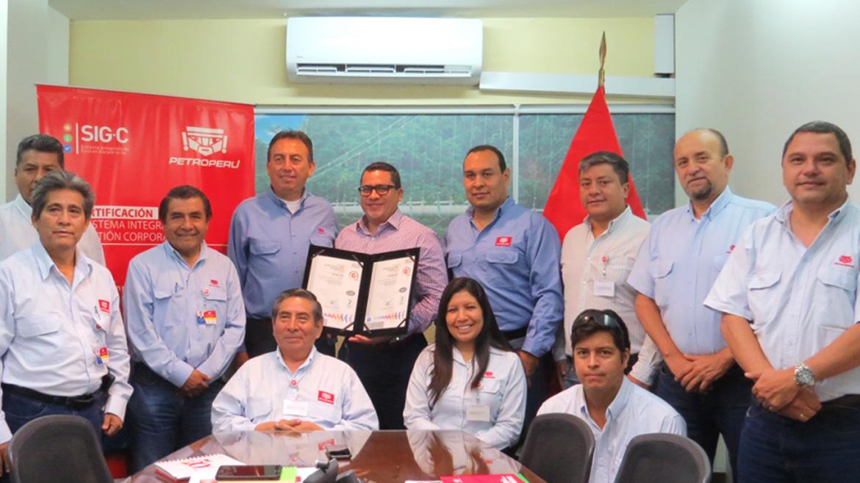 Terminal Bayóvar de Petroperú obtiene recertificación de su sistema de gestión de calidad
