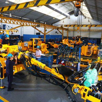 Peruana Resemin ha fabricado 588 equipos para minería subterránea