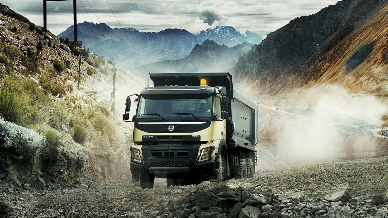 Volvo sorteará un camión FMX en el Perumin 34, en la ciudad de Arequipa