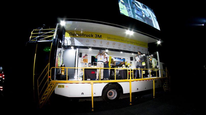 3M Perú lanza el primer 'Laboratorio Móvil en Seguridad Personal' en Latinoamérica