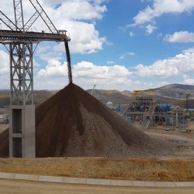 Constancia no pudo evitar caída en la producción cuprífera de Hudbay en primer trimestre