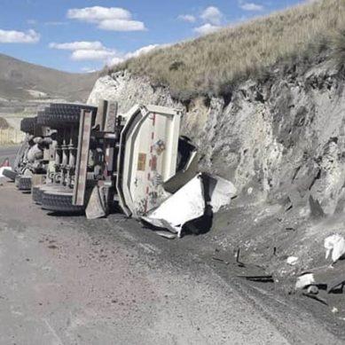 Accidente en Espinar: Hudbay deja 35 toneladas de mineral en la pista