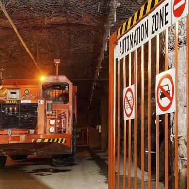 Chile: Gigantesca mina subterránea automatizará camiones en cooperación con Sandvik