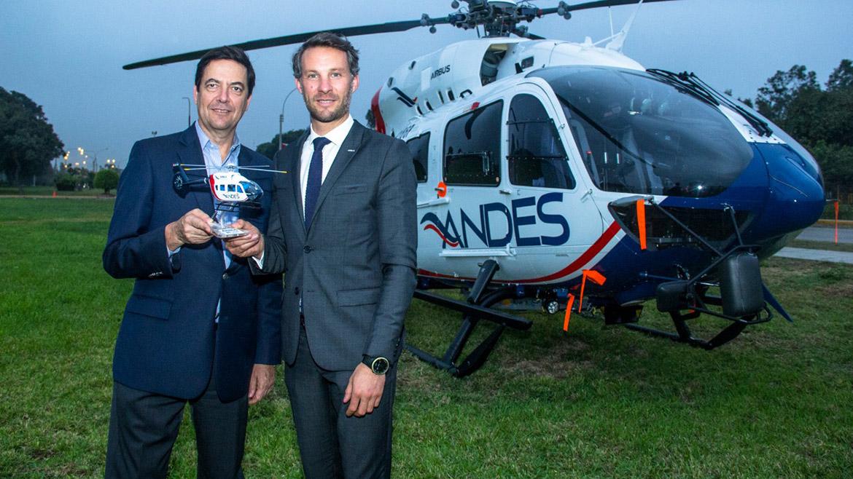 Andes adquiere helicóptero para servicios de soporte en paralizado Gasoducto Sur Peruano