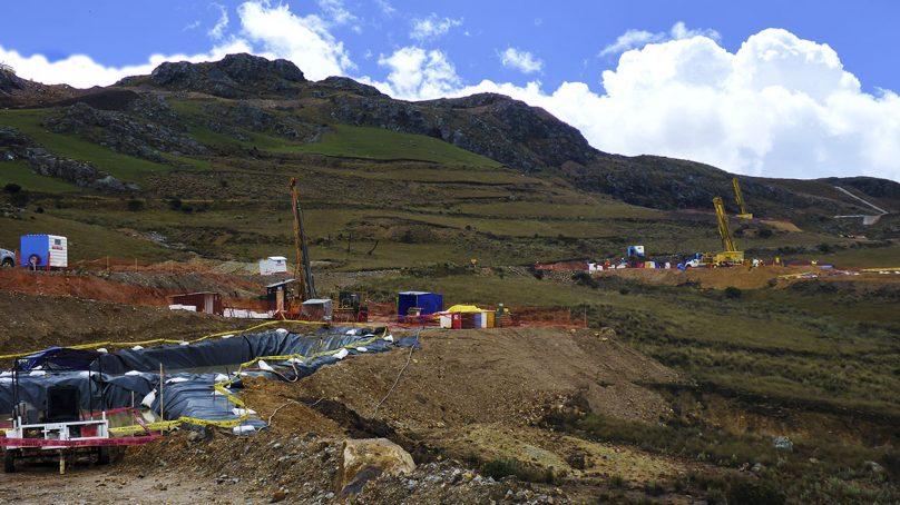 20,000 metros de perforación en Cajamarca, anuncia minera hambrienta de oro y cobre