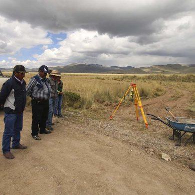 Minera Antapaccay inicia construcción trocha carrozable en sector Ccachani de Alto Huarca