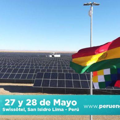 Bolivia aspira a un 15% de participación de energías renovables en mercado local