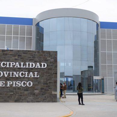 Con aporte económico de Camisea, construyen local municipal en Pisco
