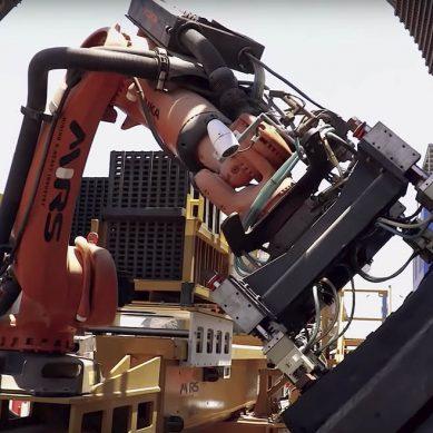 Conozca el gigante brazo robótico de la megaoperación de cobre Escondida