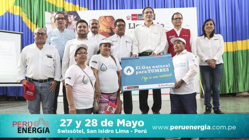 Contrato hecho: 66,000 tumbesinos tendrán gas natural 20% más barato