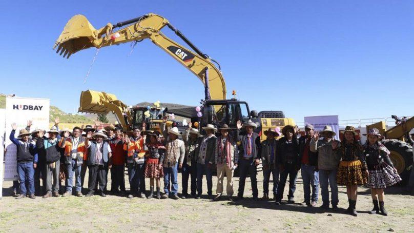 Hudbay invierte S/ 5.7 millones en maquinarias para el impulso agrícola de Chamaca