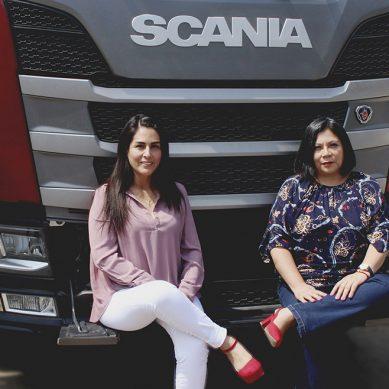 Mamás Todoterreno de Scania demuestran que el transporte no solo es cosa de hombres