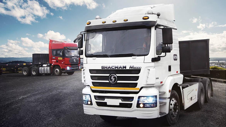 Cresko entregó flota de cinco tractocamiones Shacman a Transpacific Business
