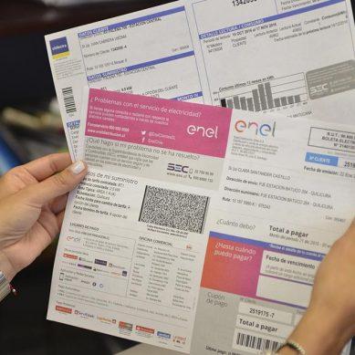 Enel: Usuarios pagarán más por consumo de electricidad, si se aprueba ley 2320