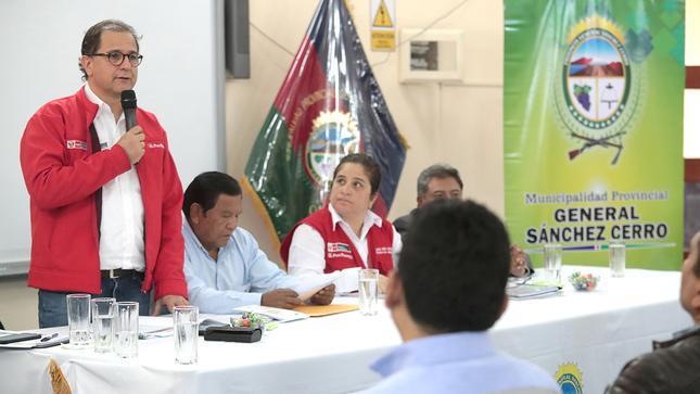 Ministro Ísmodes: «Es una responsabilidad del Gobierno que se haga una minería responsable»