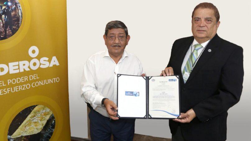 Poderosa, la primera minera acreditada en gestión antisoborno