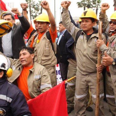 Huelga nacional indefinida este 10 de setiembre, anuncia Federación de Trabajadores Mineros