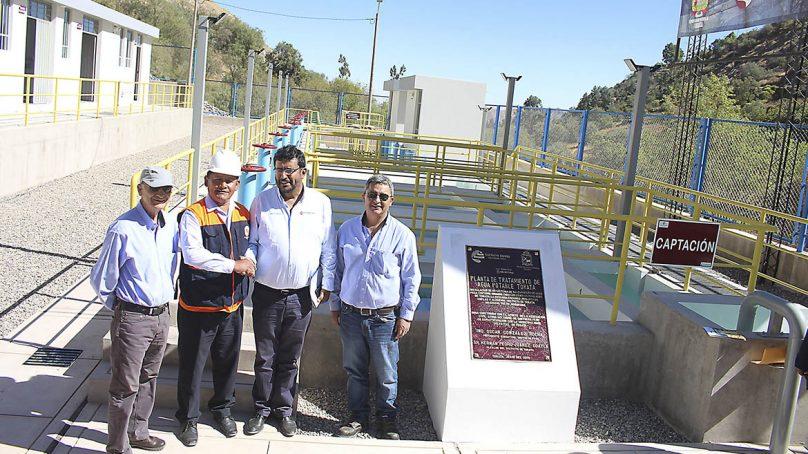 Moquegua: Southern inaugura planta de tratamiento de agua en el distrito Torata