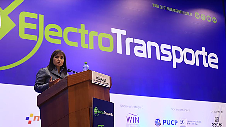 """""""Queremos vehículos que sean potenciados con baterías hechas en nuestro país»: MTC"""