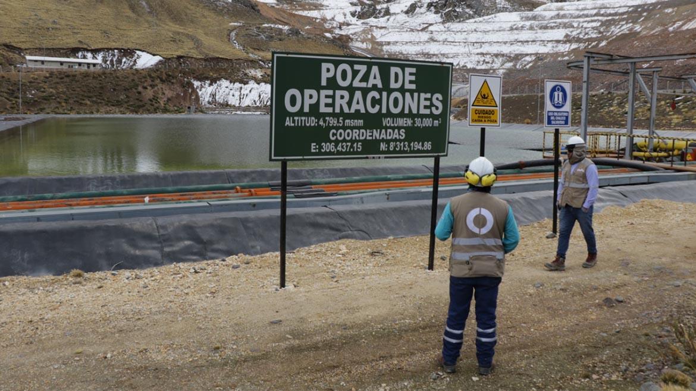 OEFA paralizó componentes mineros de la unidad minera de Aruntani en Puno