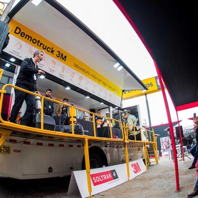 Demo Truck, primera unidad móvil de seguridad personal de América Latina de Soltrak y 3M