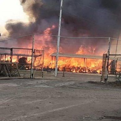 Incendian oficinas de Confipetrol en protesta violenta contra petrolera china CNPC, en Piura