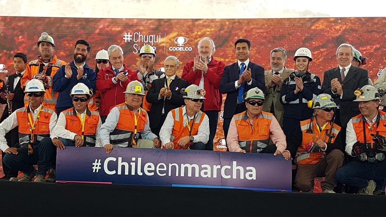 #Chileenmarcha: hashtag con el que el país vecino presume de su industria minera