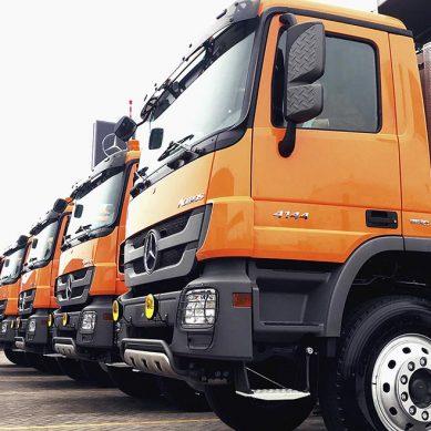 Corihuarmi robustece transporte de minerales con camiones volquete de 40 toneladas