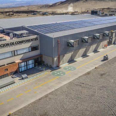 Energía solar, el aliado de Ferreyros para la planta de reparación de maquinarias mineras