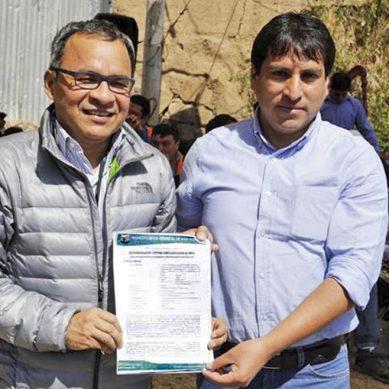Áncash: Antamina financia con S/35 millones pistas y veredas para tres centros poblados