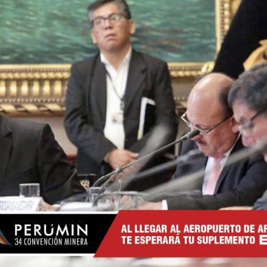 Ministro Francisco Ísmodes: Gobierno impulsará «mejoras a la normatividad minera»