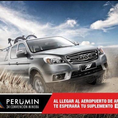 Primera pick up diésel de JAC llega al Perú