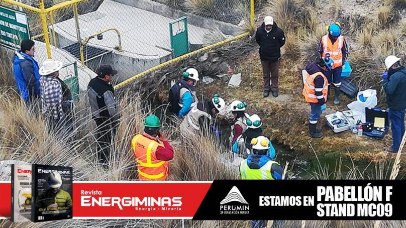Ante presunta contaminación, miden calidad de agua en inmediaciones de mina Tintaya