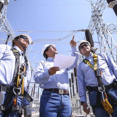 Producción eléctrica aumentó 4.3% en agosto por demanda de clientes industriales