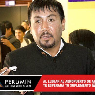Gobernador Elmer Cáceres retrocede; no participará como ponente en convención minera Perumin