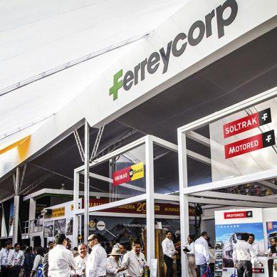 Ferreycorp acude con todo su batallón de marcas innovadoras al Perumin 34