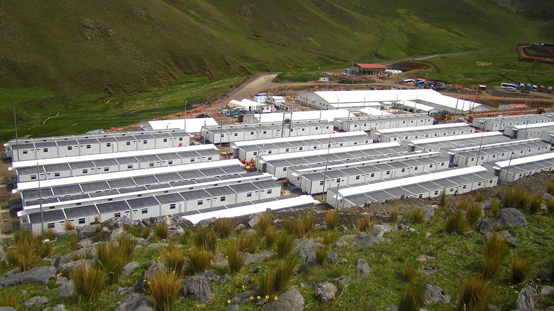 Campamentos mineros: calidad de vida en las alturas