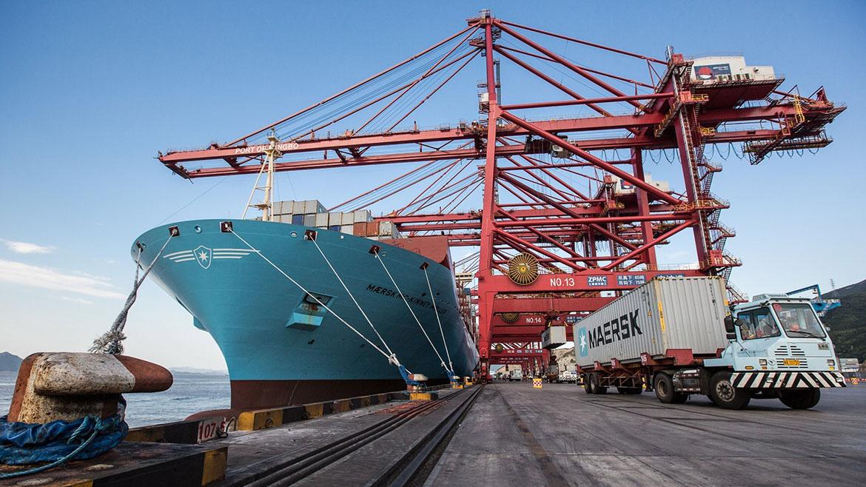 Naviera Maersk simplifica proceso de embarque con ayuda de la digitalización