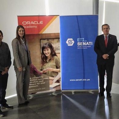 Oracle capacitará profesores del Senati en inteligencia de datos, IoT y lenguaje Java