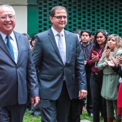 «Debemos respaldar al presidente de la República»: Traspaso de mando en el Minem