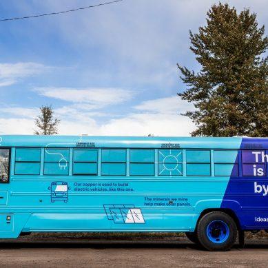 Accionista de Antamina usará buses eléctricos para movilizar trabajadores en minas de Canadá